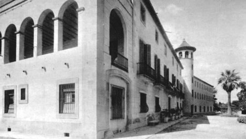 Seu de l'Escola de Mestres. Col·legi deNormalistes. C. Hort de la Vila, 46.1948