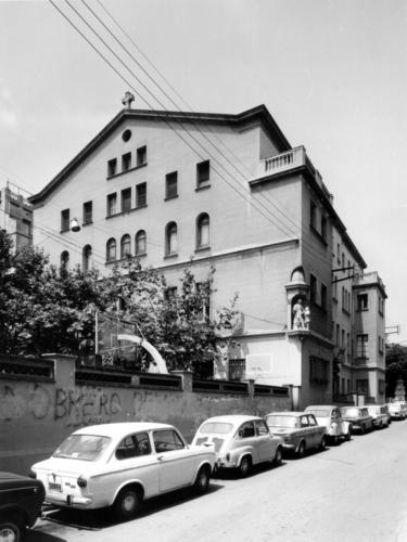 Seu de l'Escola de Mestres. C. Santa Anna, 7. 1971