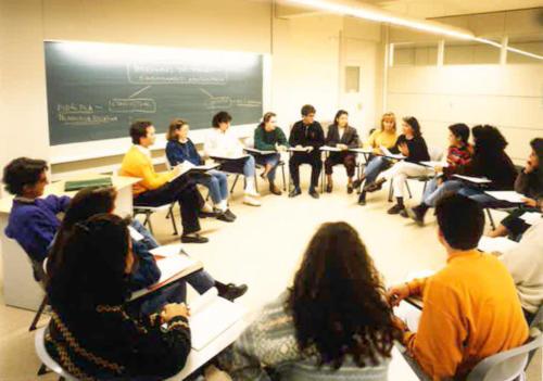 Seminari de l'Escola de Mestres Blanquerna-URL. 1994