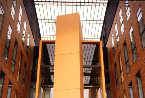 Nou edifici del carrer Císter, 34. Escola de Mestres Blanquerna. 1990