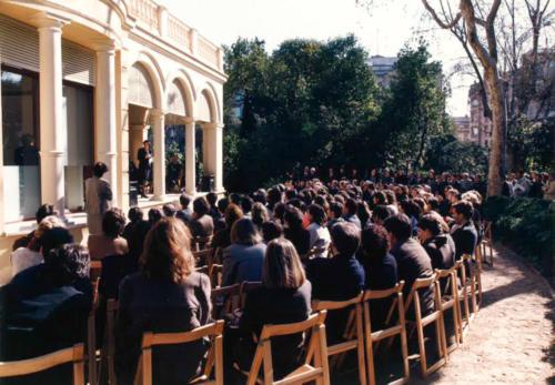 Inauguració de l'edifici de La Tamarita, seu de la Fundació Blanquerna
