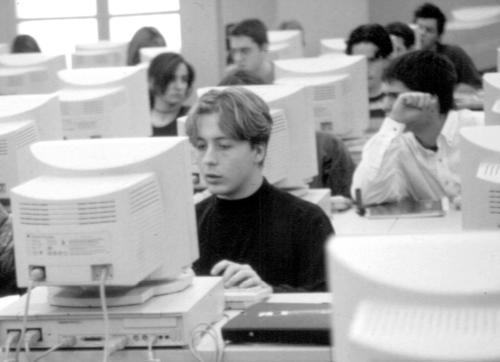 Ordinadors de l'aula d'informàtica. FCC