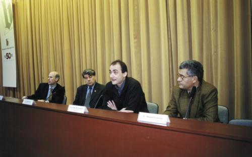 Lluís Font, Salvador Pié, Josep M. Esquirol i Miquel Gassiot. Jornada de Sant Tomàs d'Aquino. 2008