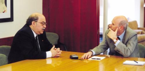 Conversa entre Lluís Font i Andreu Mas Collell per La Revista de Blanquerna. 2000